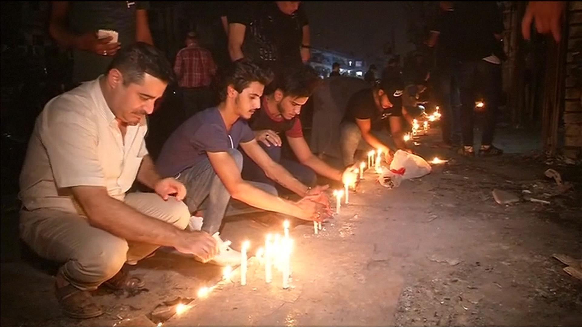 Baghdad Bomb Toll Hits 200; Iraqis Take Out Anger on PM Al-Abadi