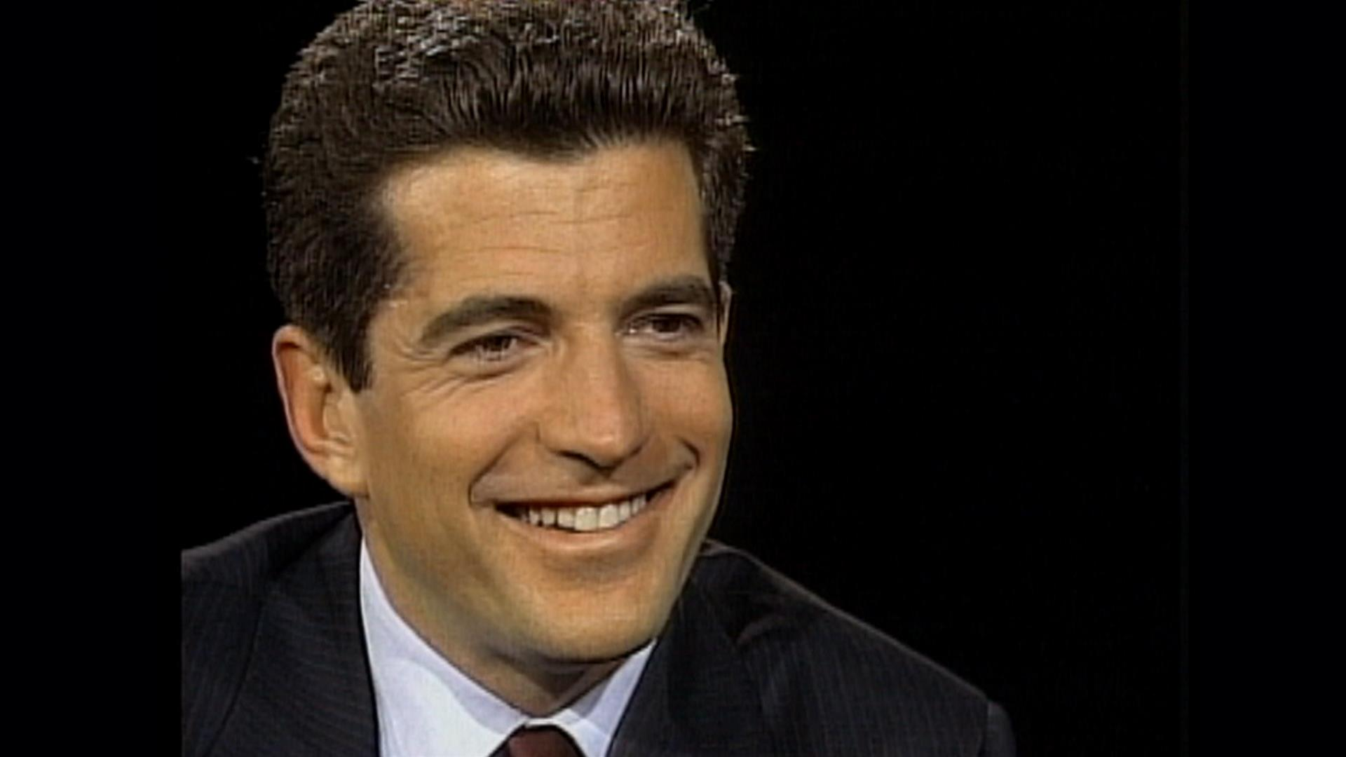 Today Flashback John F Kennedy Jr Talks Family Life With Katie