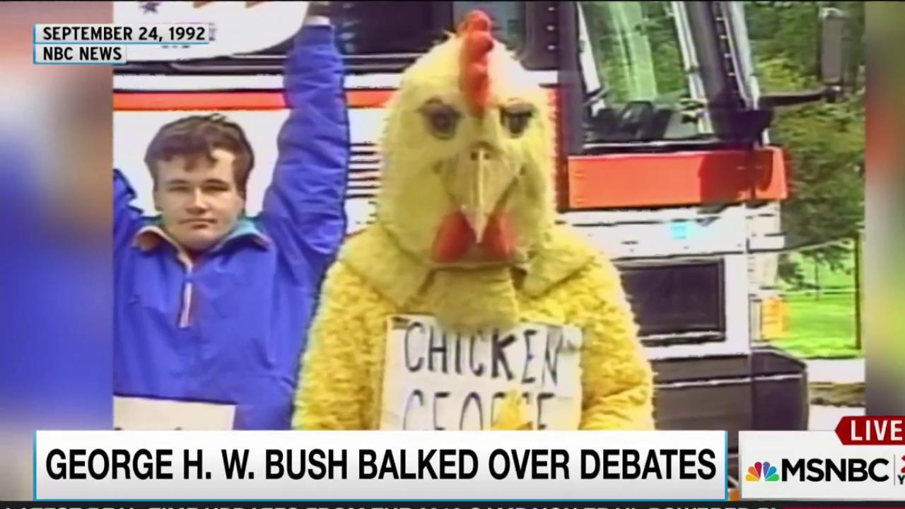 Will Donald Trump chicken out of debates?