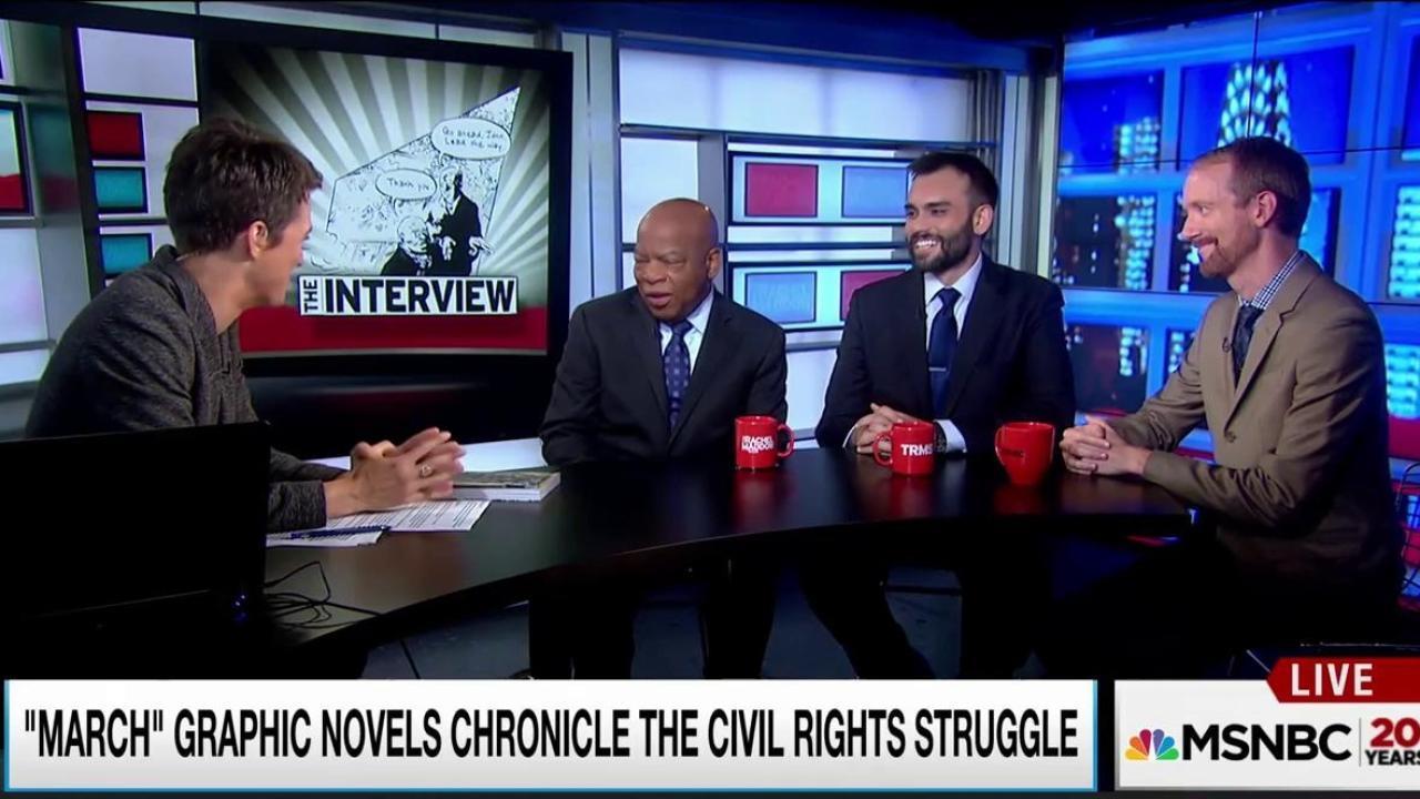 Rep. Lewis memorializes civil rights movement