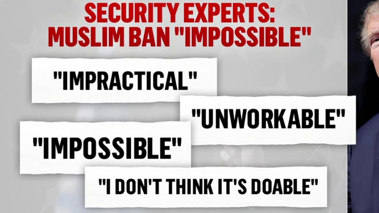 Legitimacy of Trump's Muslim Ban