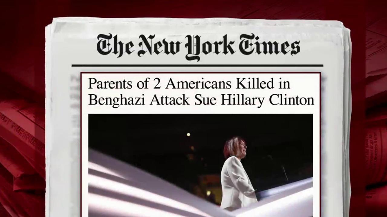 Two Benghazi parents sue Hillary Clinton