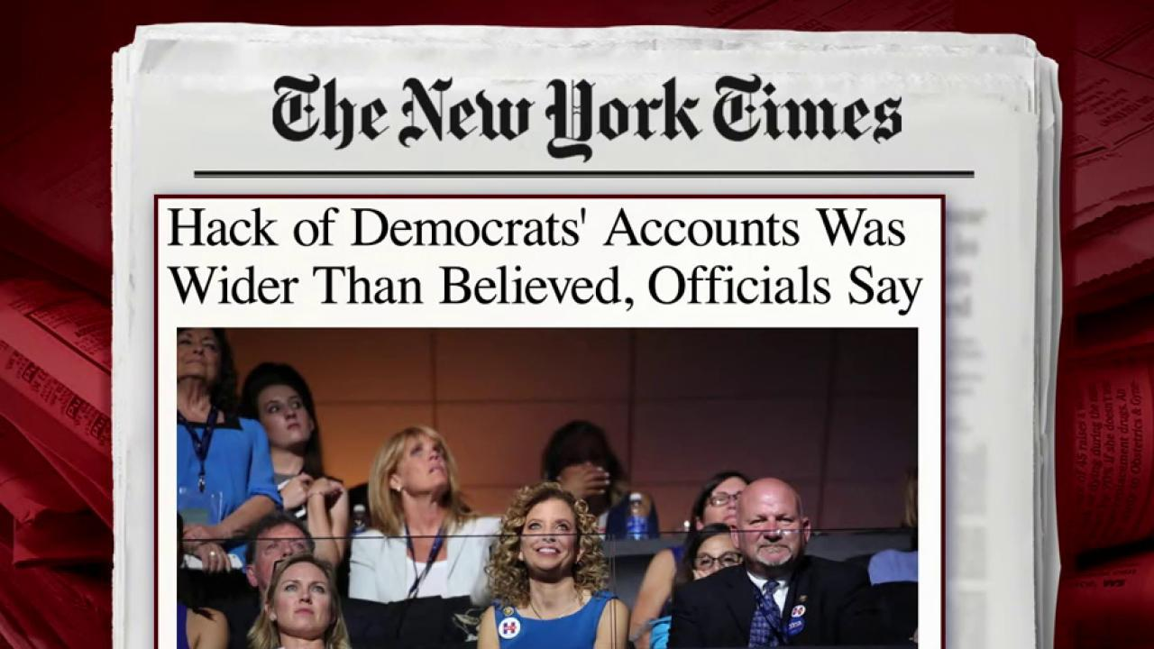 Hacking of Dem accounts wider than expected