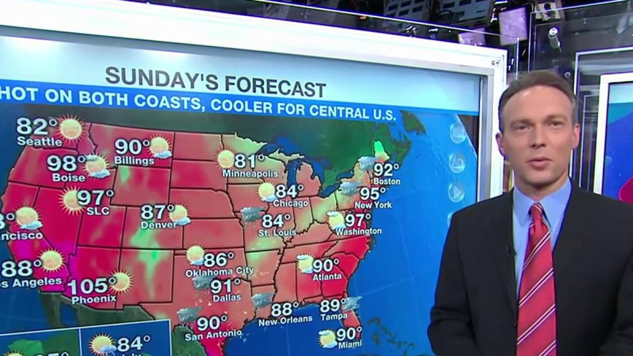 Hazy, hot, humid: Staggering heat hits US