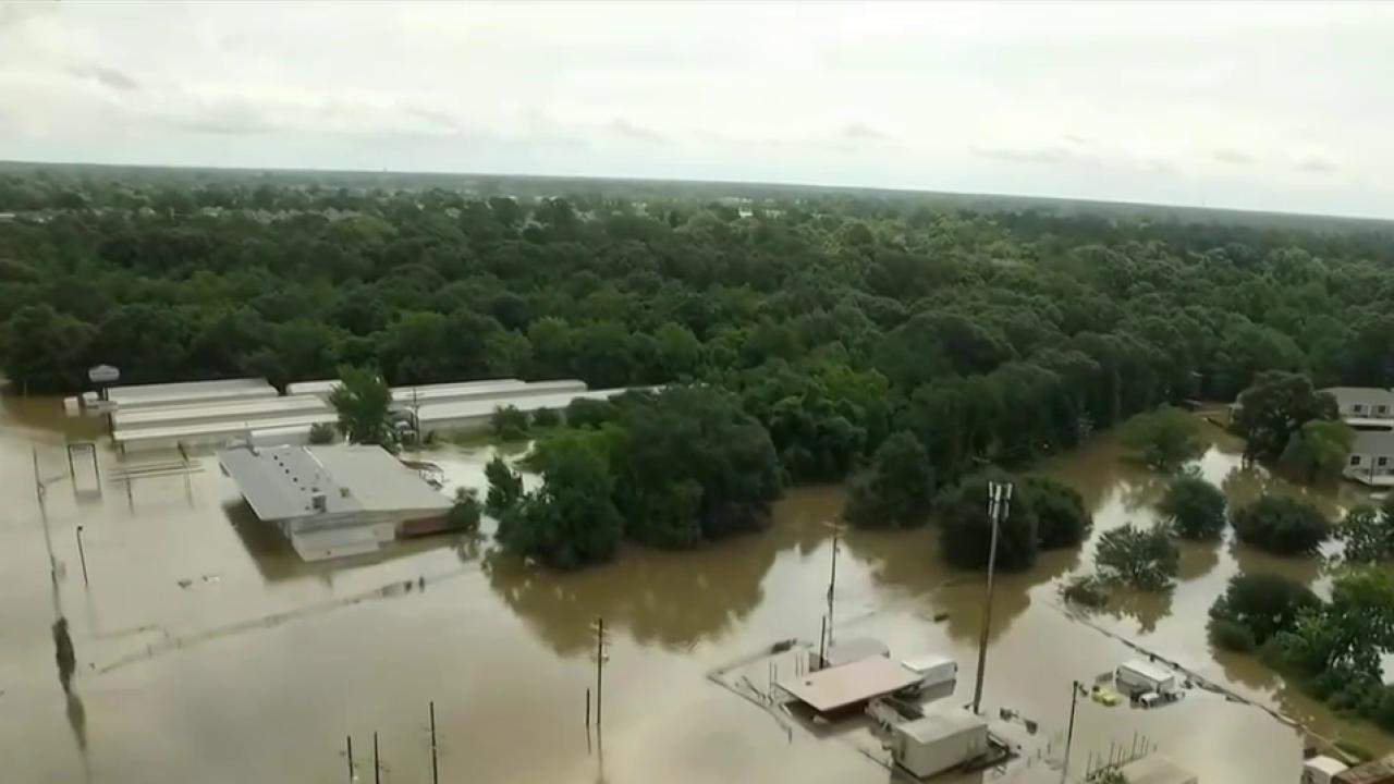 Historic flooding sweeps parts of Louisiana