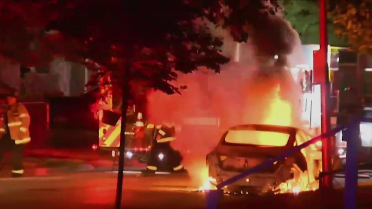 Second night of unrest in Milawaukee
