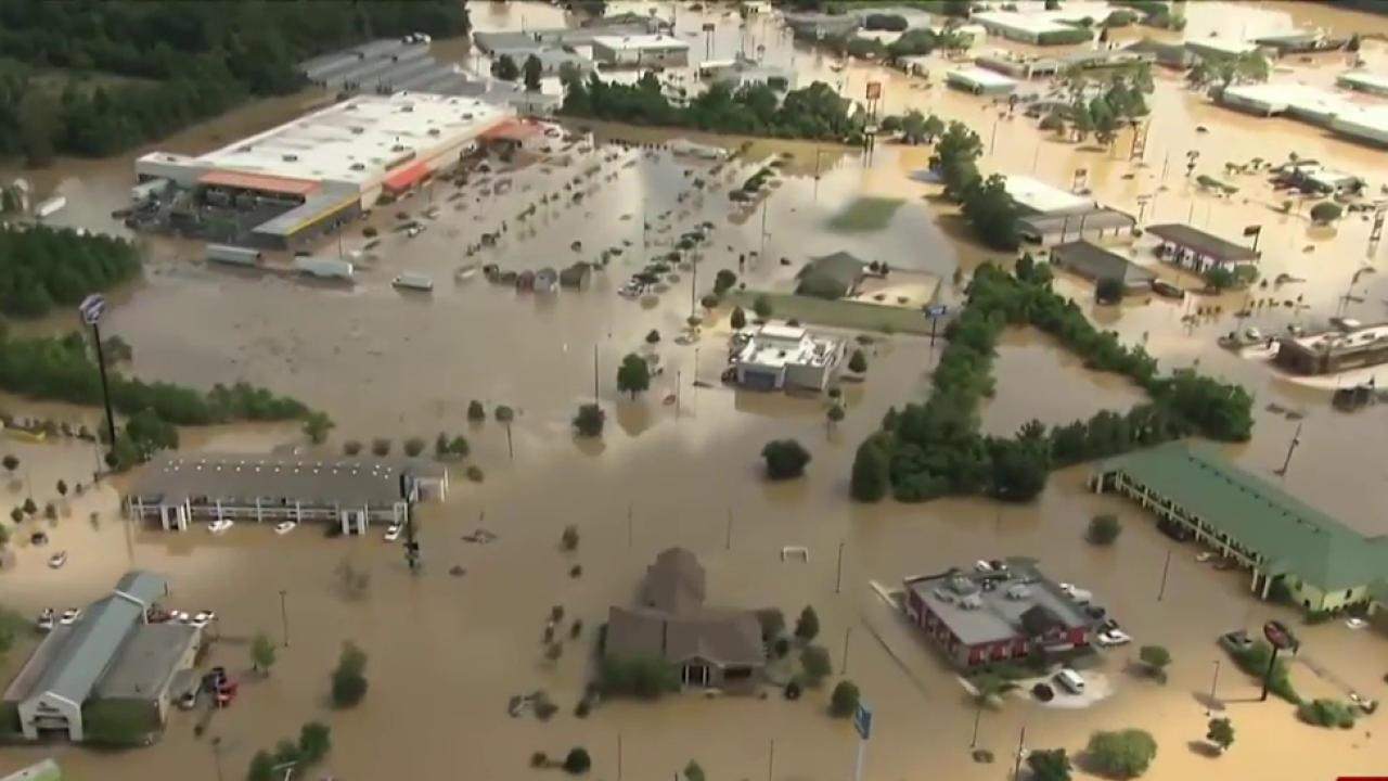 Death toll rises to seven in Louisiana...