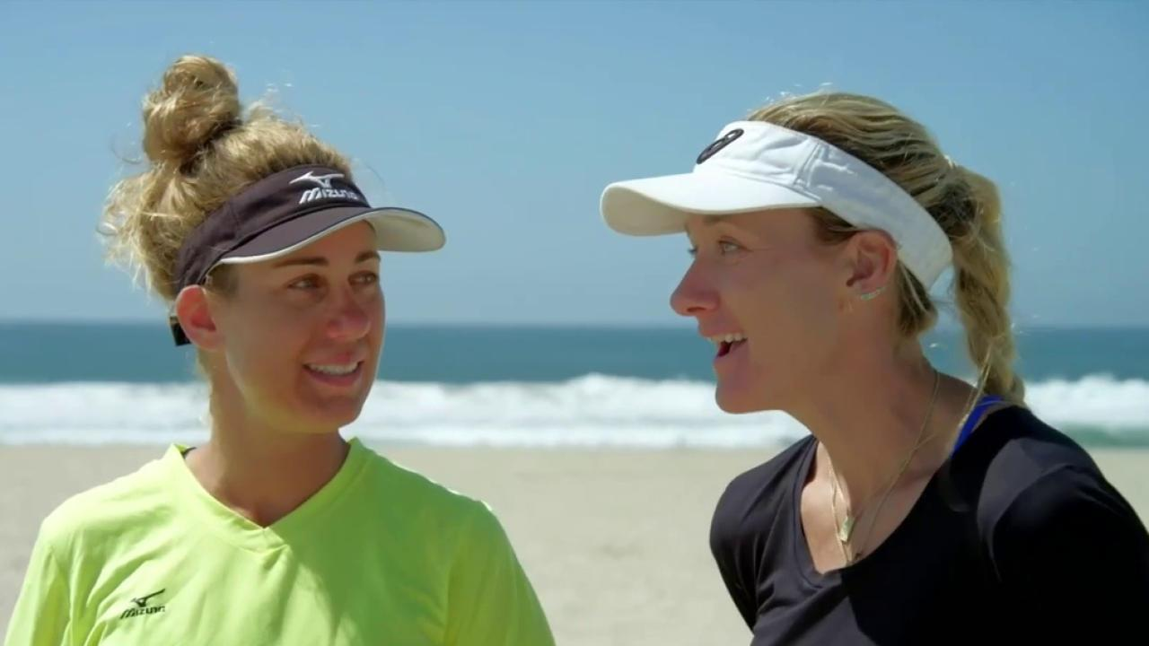 Kerri Walsh Jennings and April Ross: Americas Dynamic Volleyball Duo