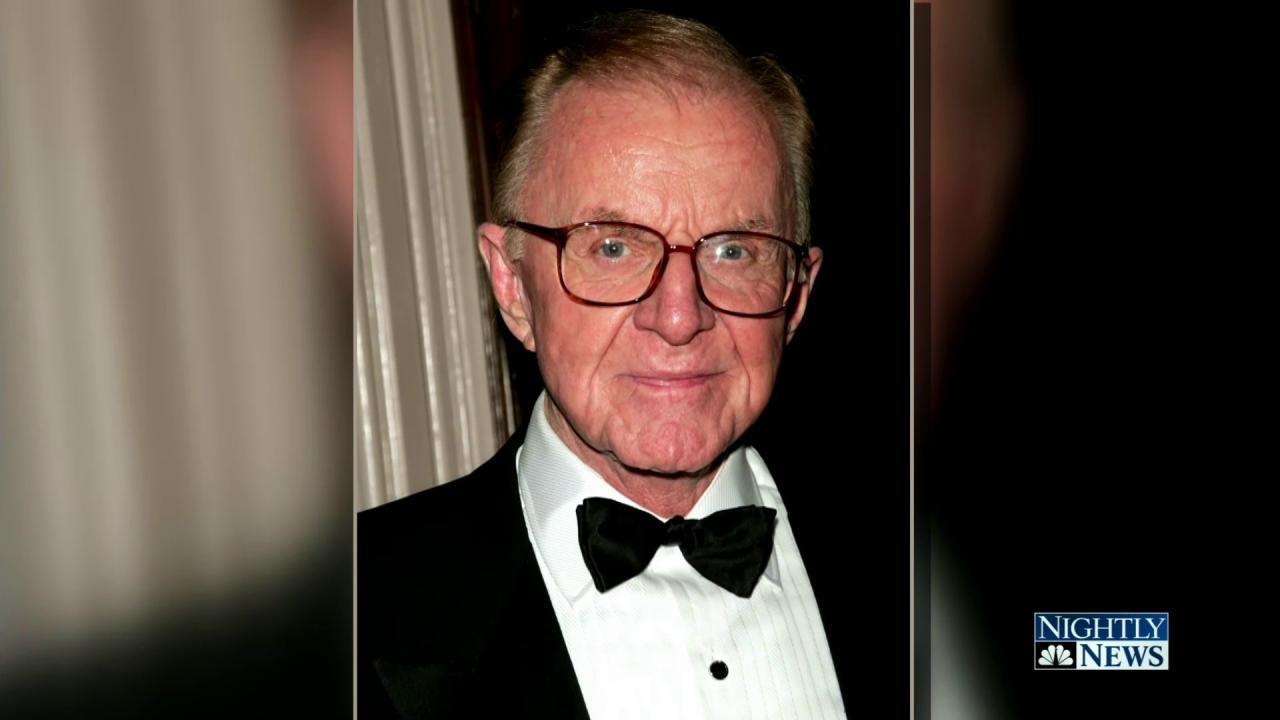 John McLaughlin, Legendary McLaughlin Group Host, Dies at Age 89