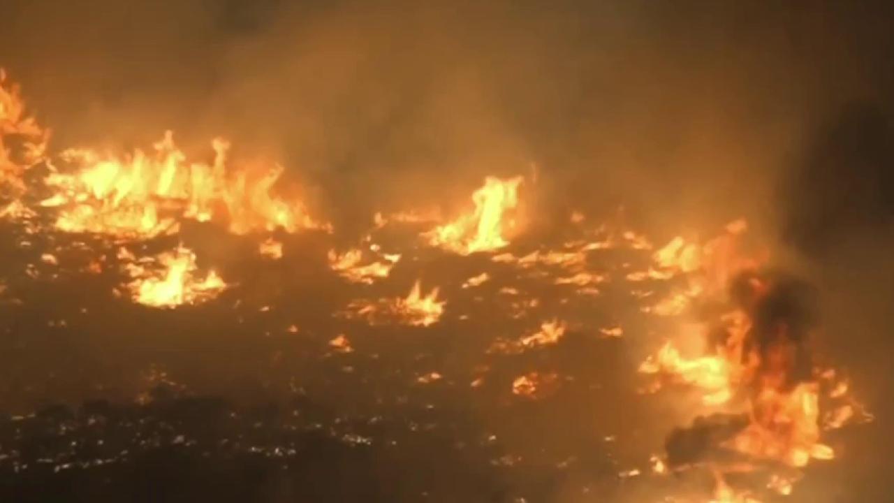 'Blue Cut' fire out of control in California