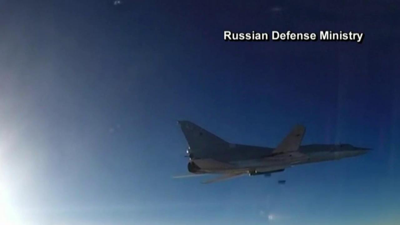 Russia uses Iran base for airstrikes in Syria
