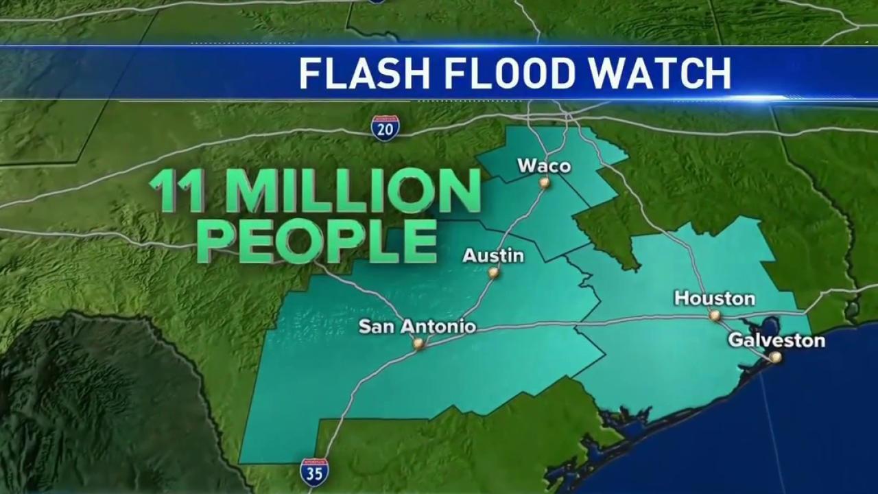 Louisiana Flooding Disaster Grows, Millions in Texas Under Flood Watch