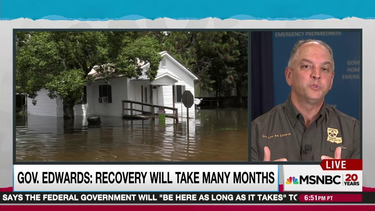 Louisiana struggles as tragic flood continues