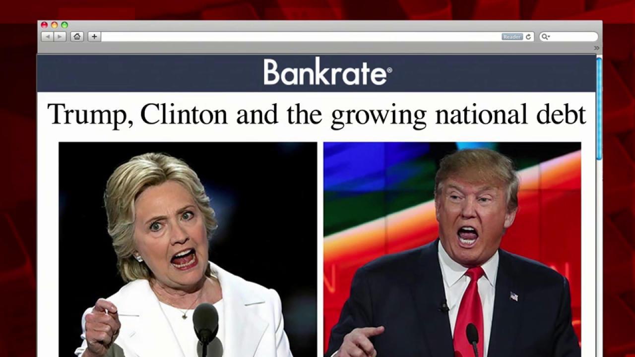 How Clinton, Trump rank on federal debt