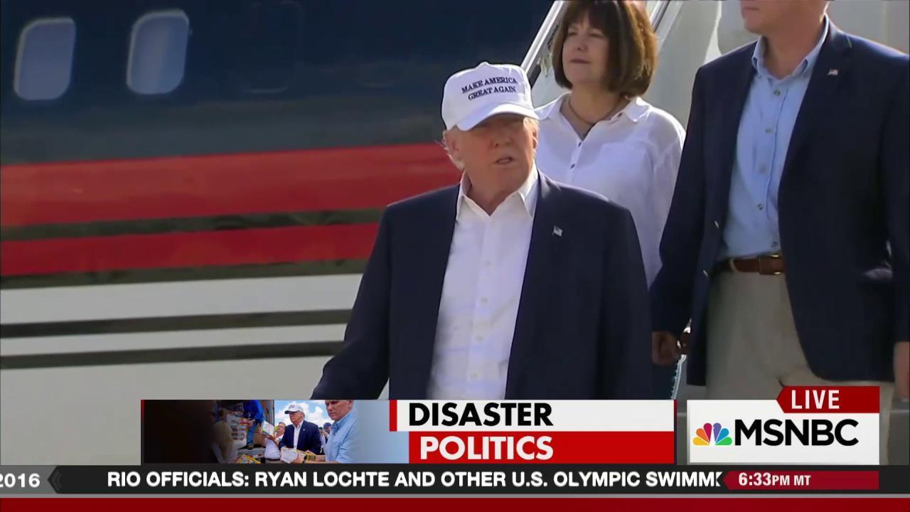 Donald Trump's Baton Rouge photo-op
