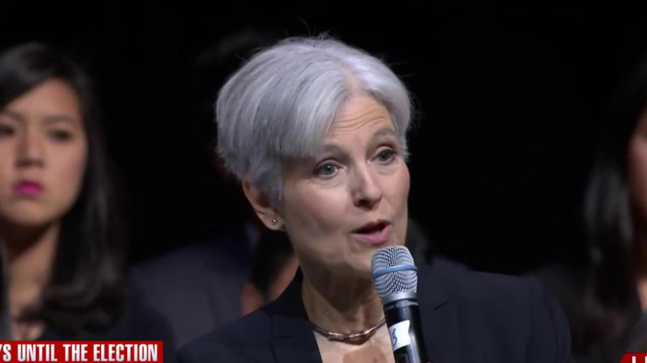 Jill Stein: Green Party stands up for people & the planet