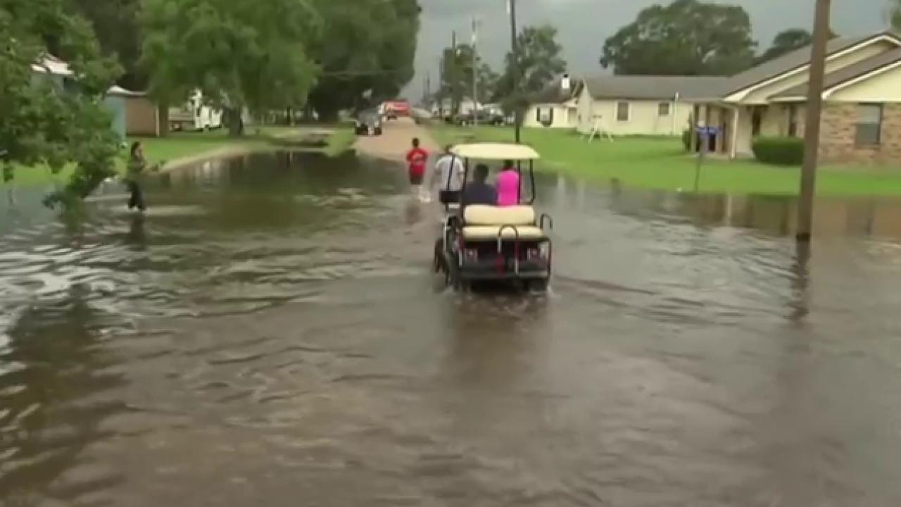 Louisiana Lt. Gov.: Flooding is ...