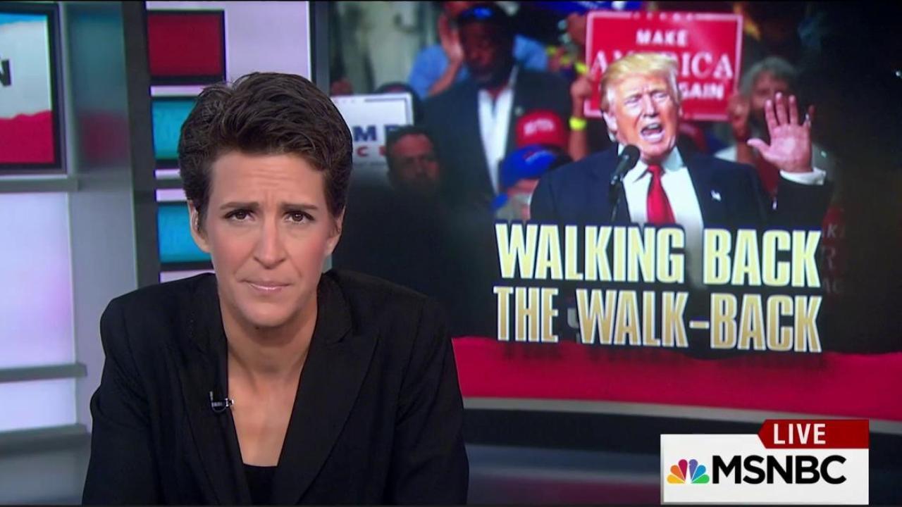Racist advisers trip up Trump acceptability