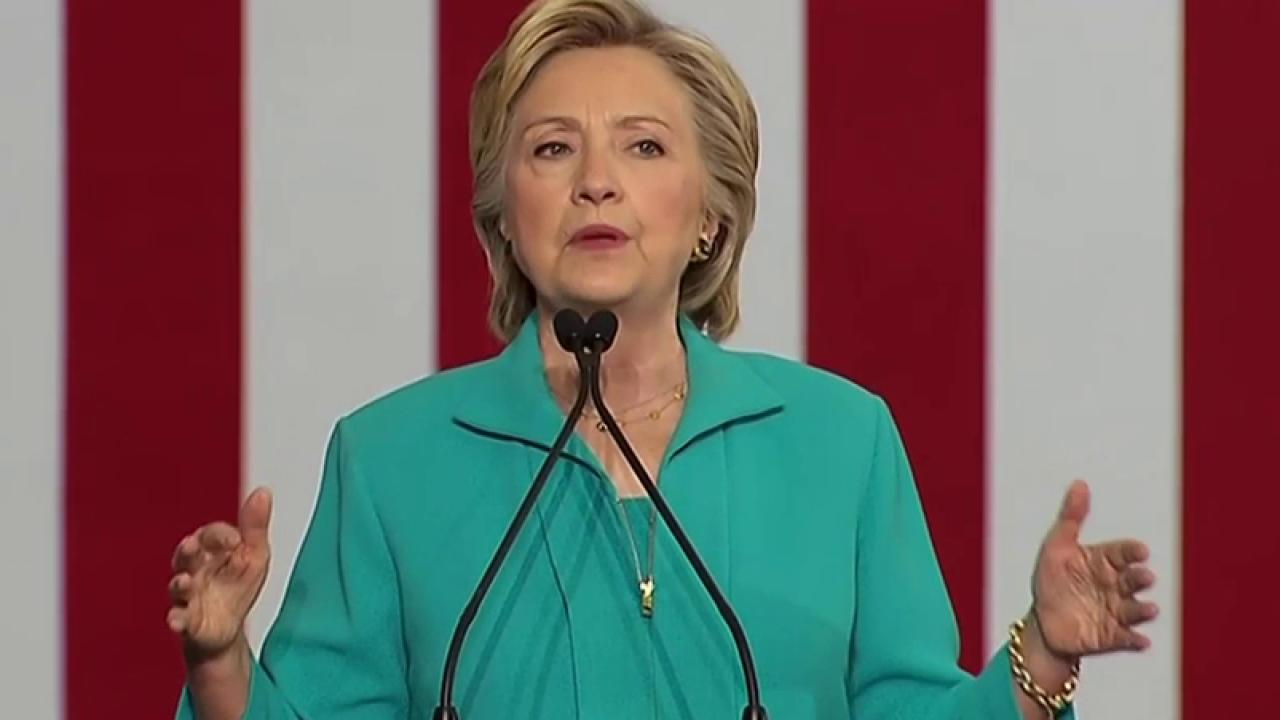 Clinton: Alt-Right Taking Over GOP