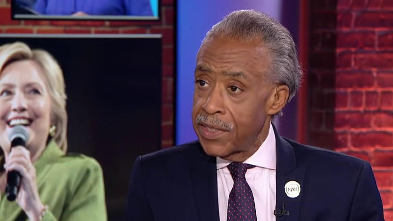 Rev. Al Sharpton: Calling Clinton a bigot...