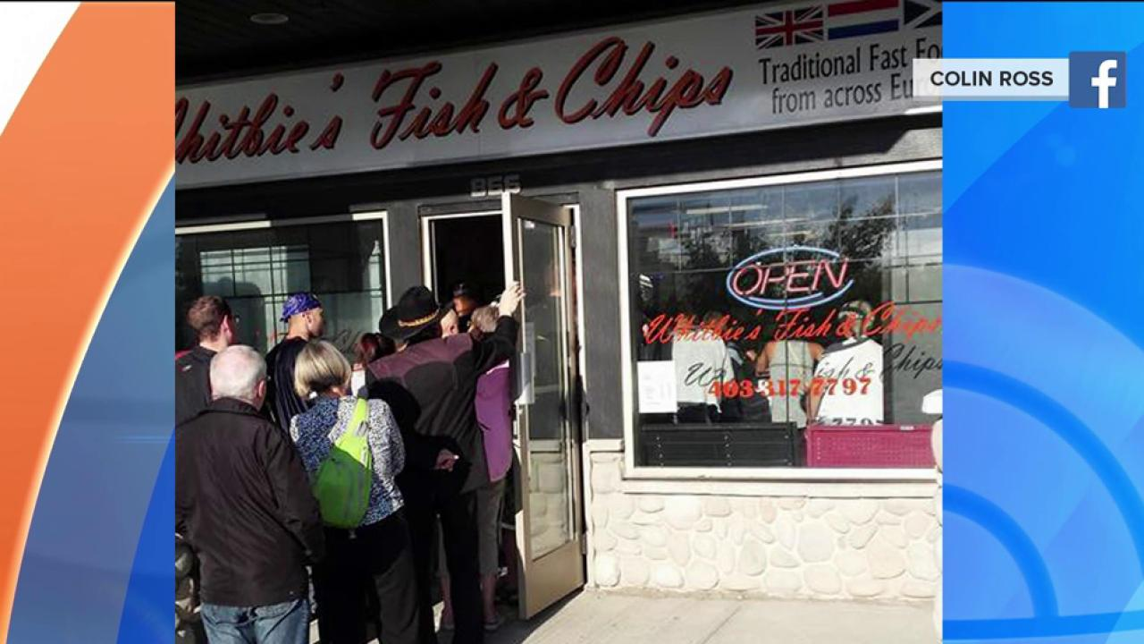 Facebook post leads to booming business for fish and chips restaurant