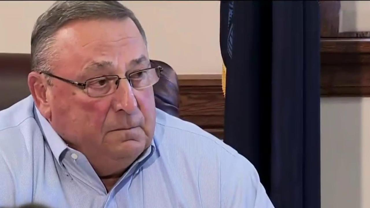 Maine's Gov. under fire over obscene...