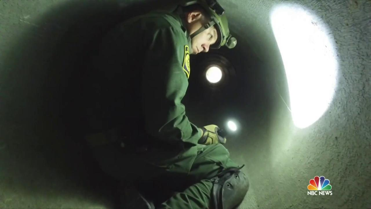 Meet the Border Tunnel Rats Patrolling Deep Underneath the U.S., Mexico Border
