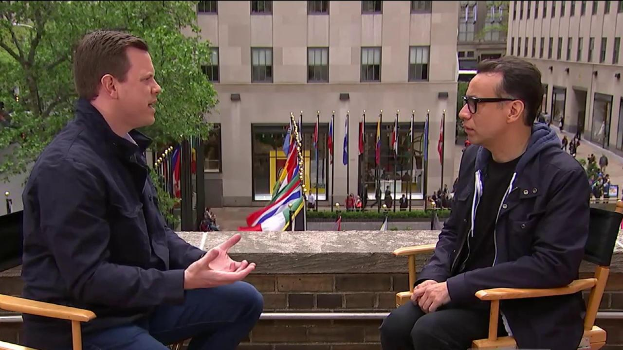 "Watch Fred Armisen compare himself to Paul McCartney""twice"