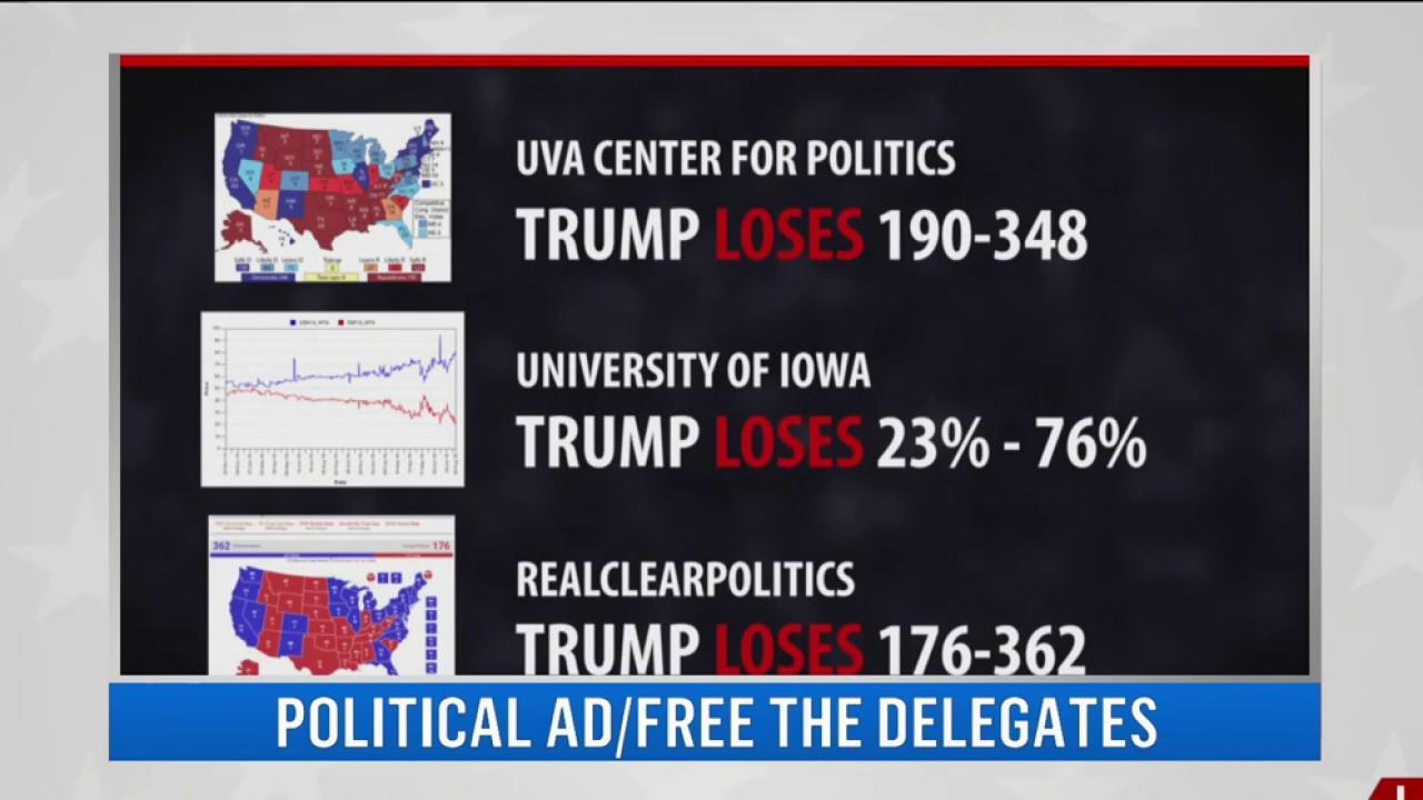 Anti-trump group makes last round