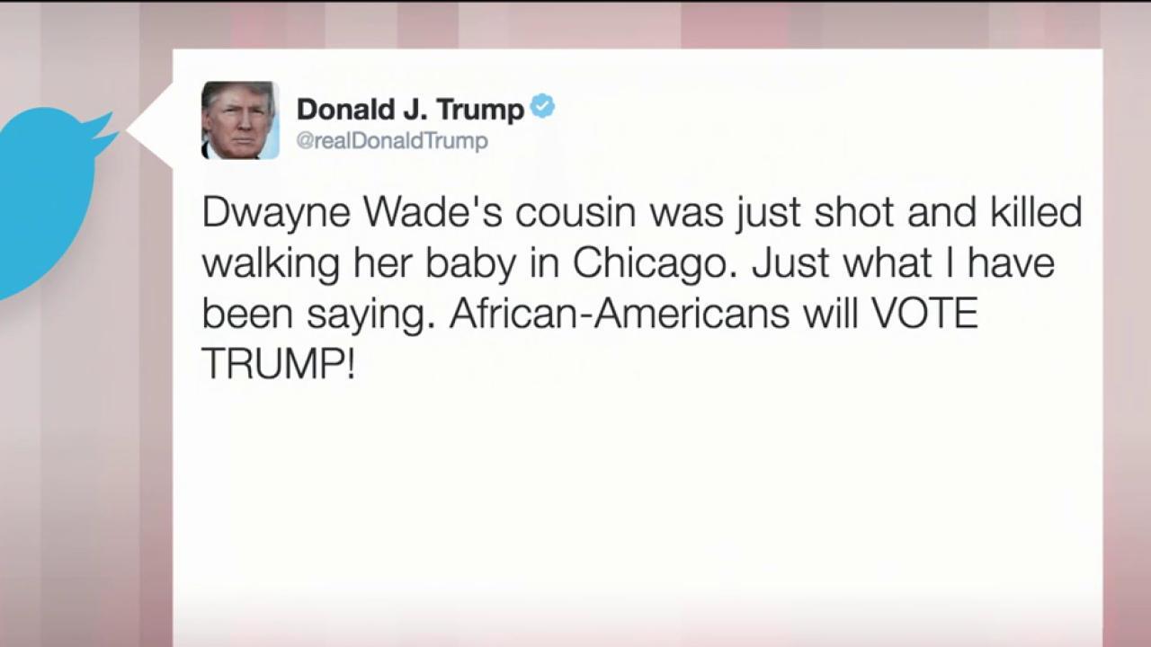 Trump shows lack of empathy, irony in tweet