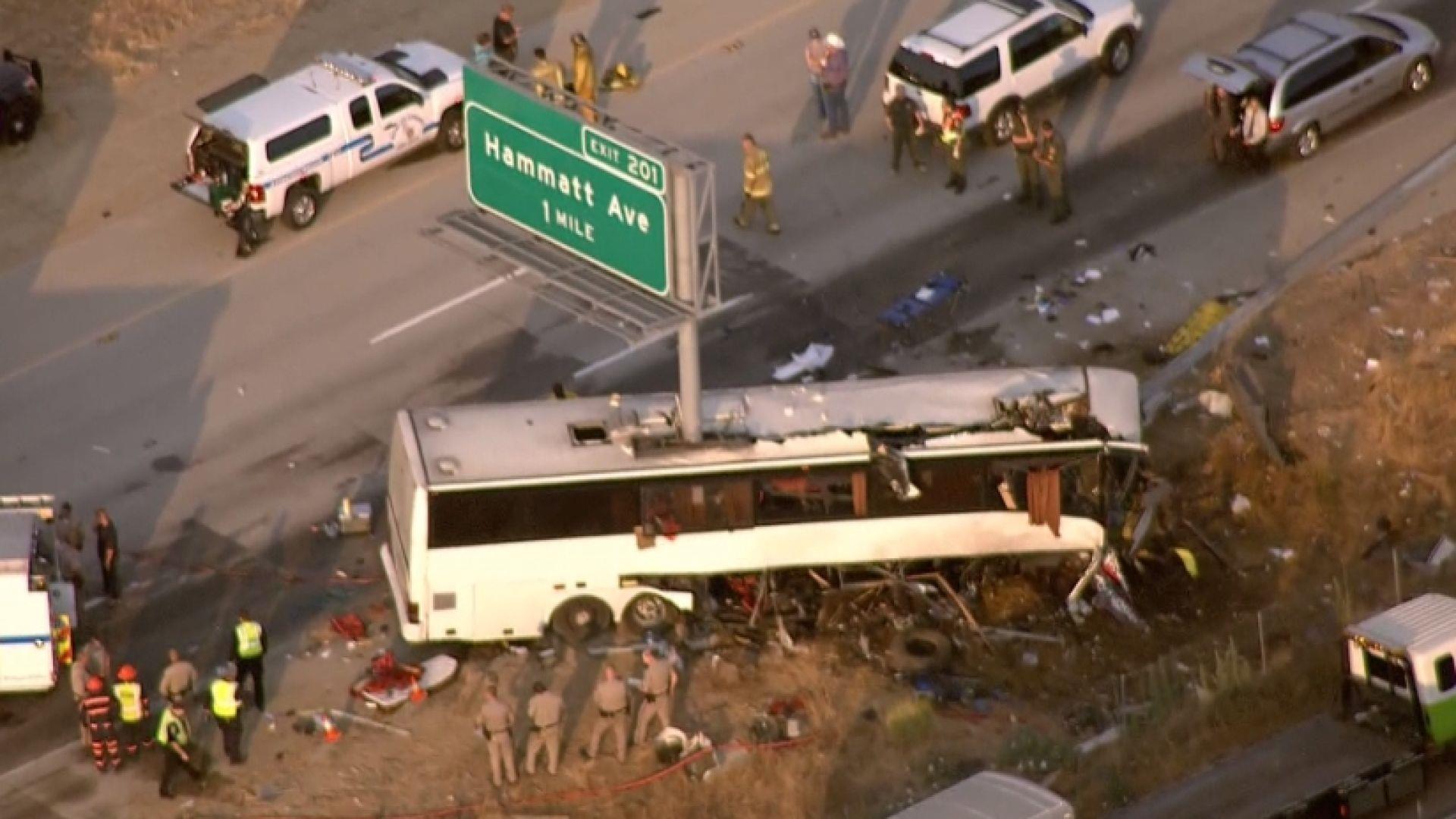 Bus Crash in Merced, California, Kills At Least 5