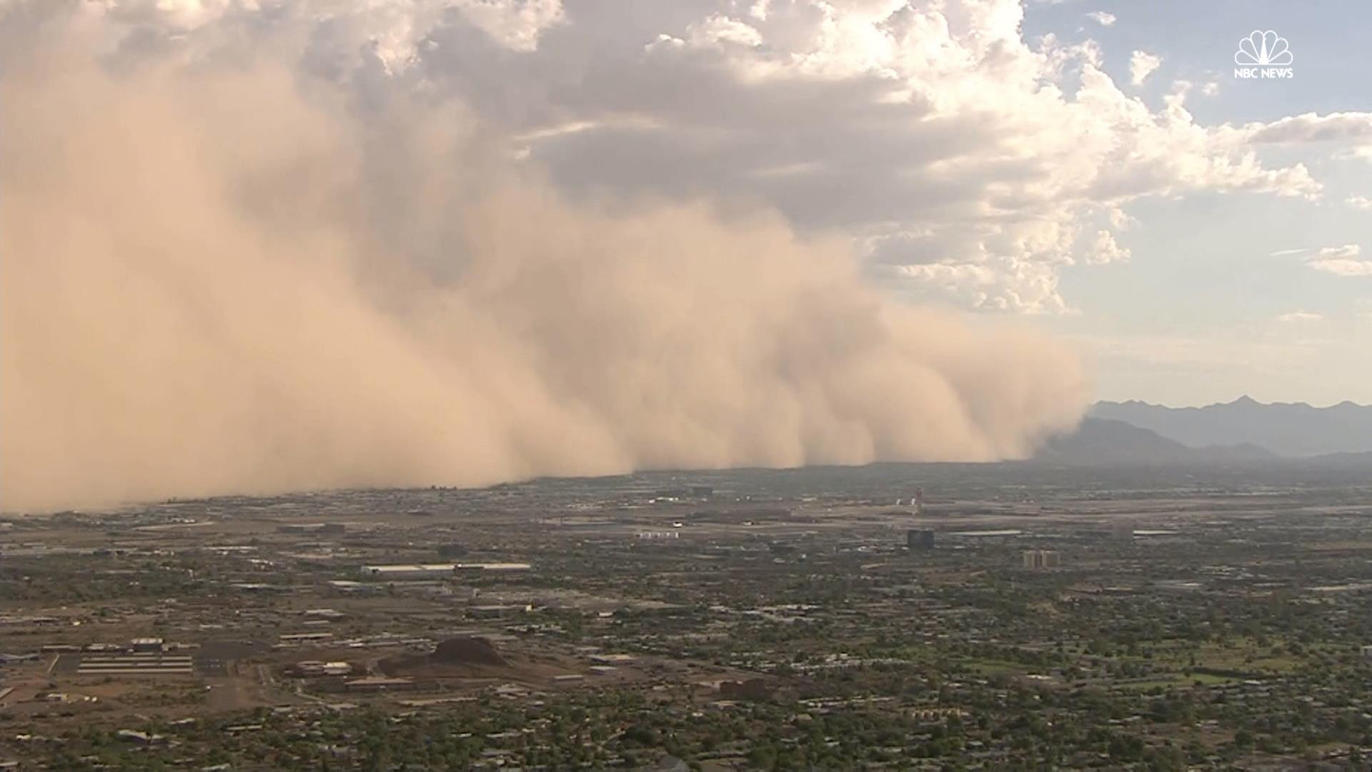 Dust Storm Rolls Through Arizona Nbc News
