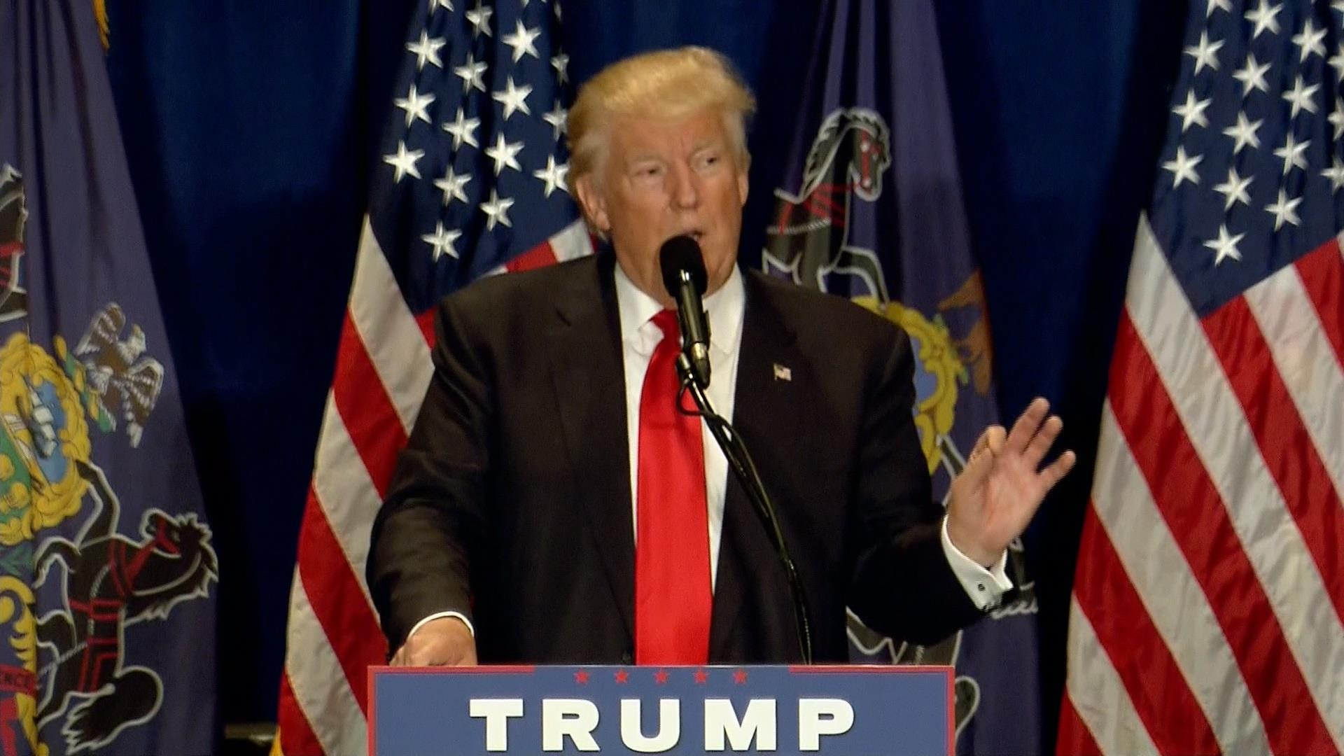 Trump: Clinton won't win PA without cheating