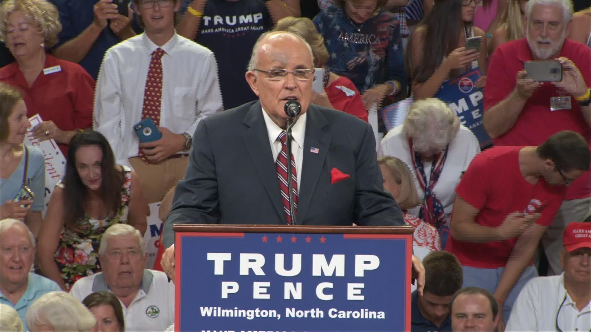 The Giuliani disgrace