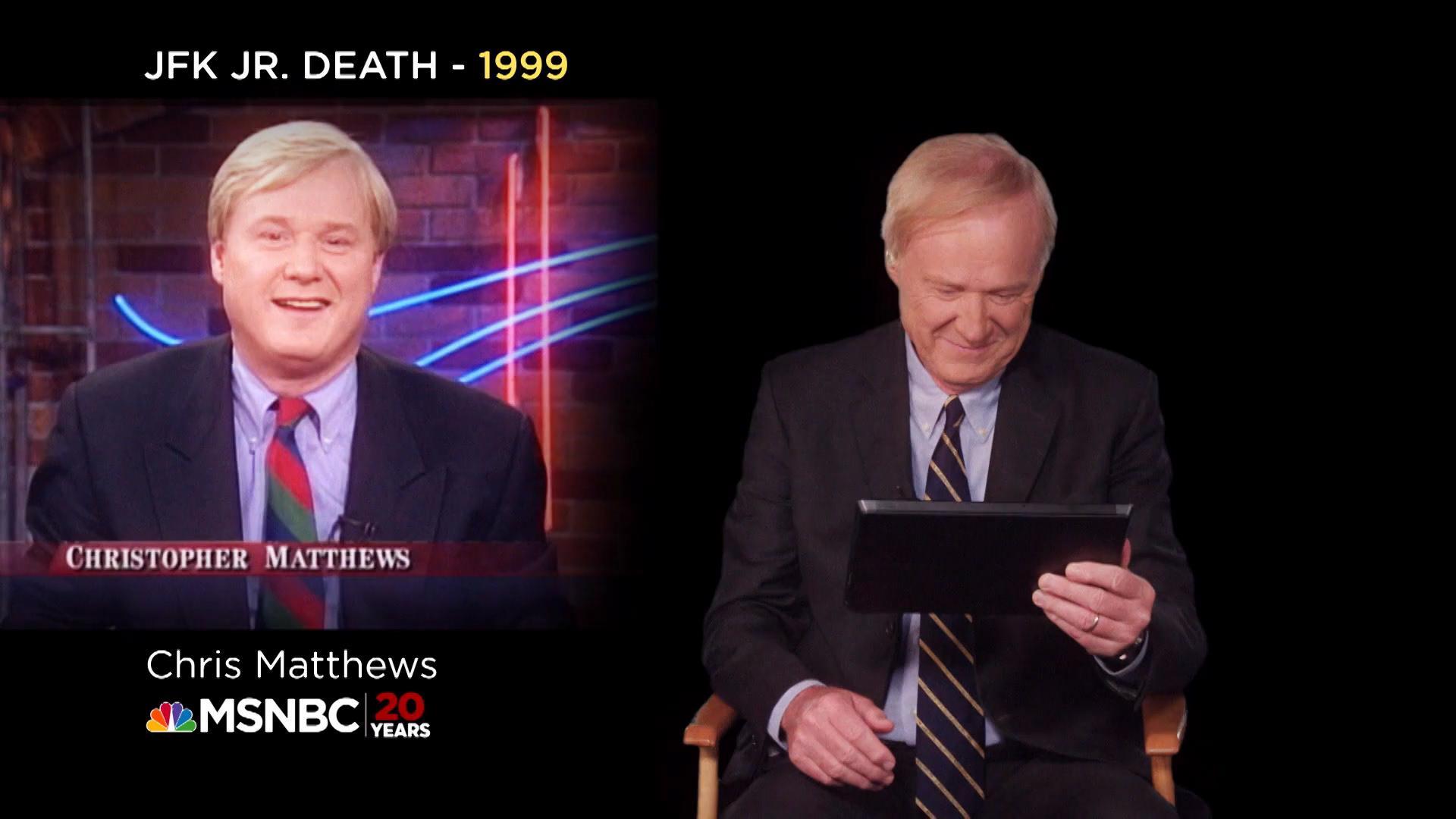 Chris Matthews on John F. Kennedy Jr.
