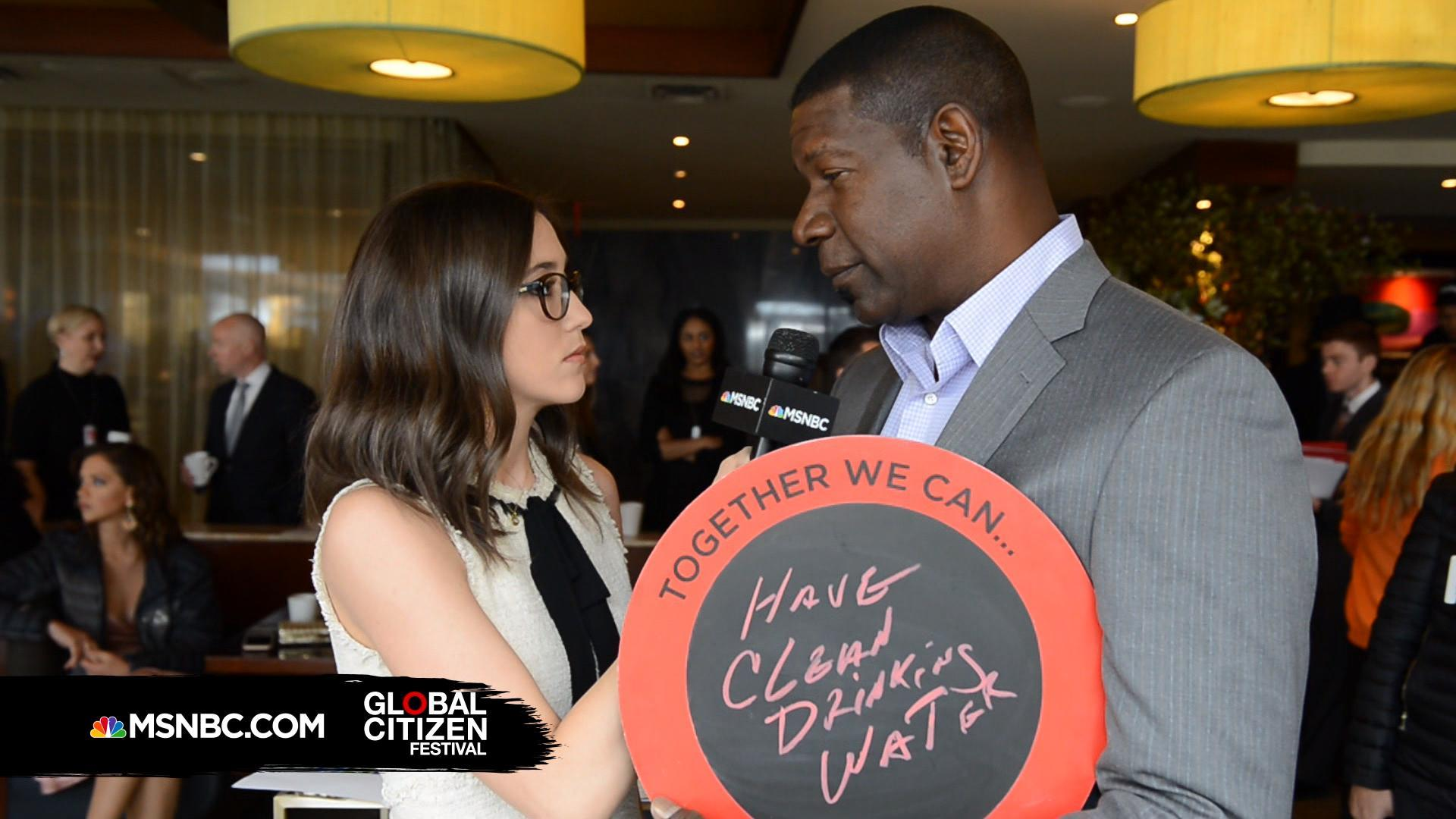Dennis Haysbert Strives For Clean Water