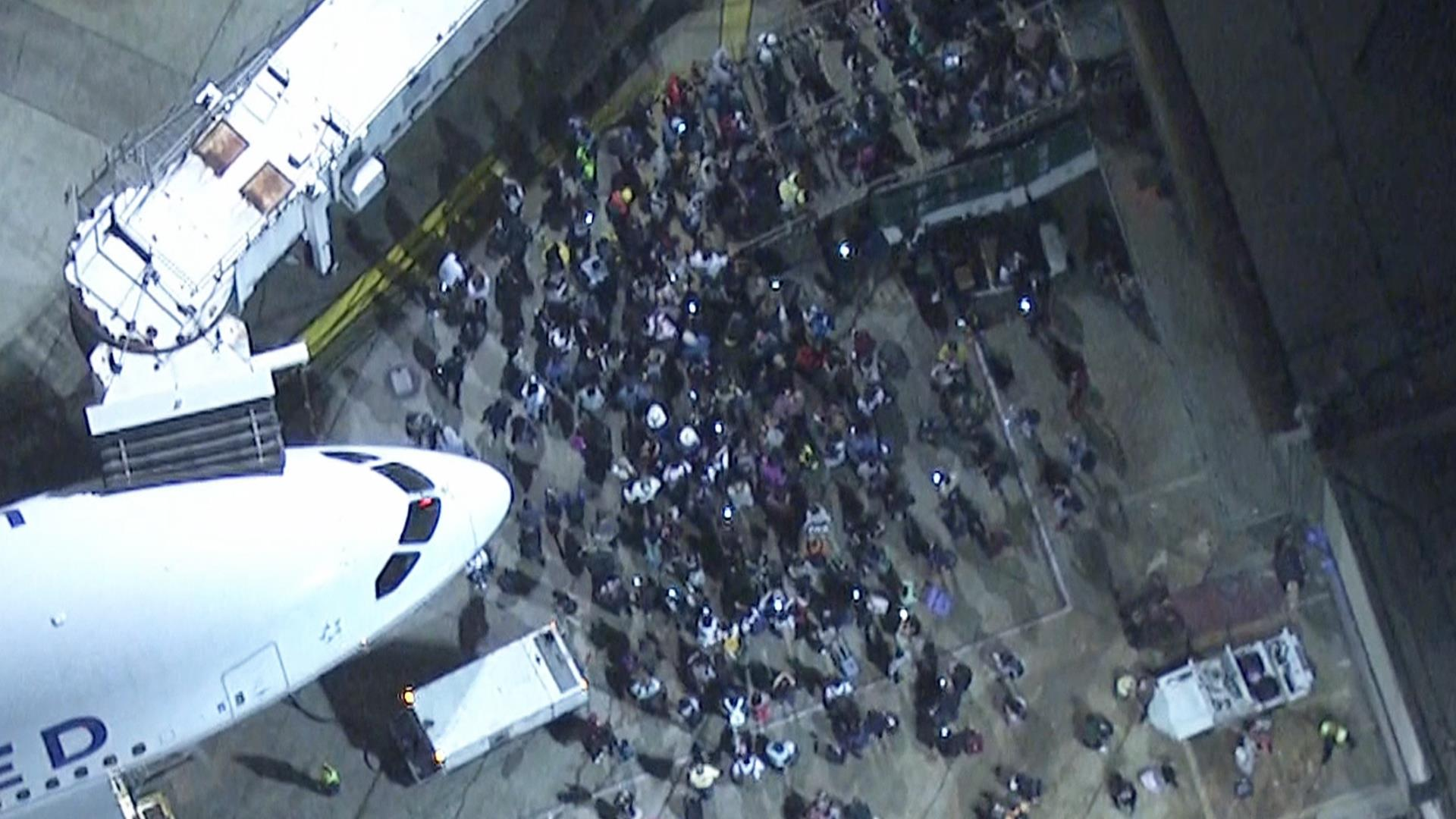 Lax In Chaos After False Reports Of An Active Shooter