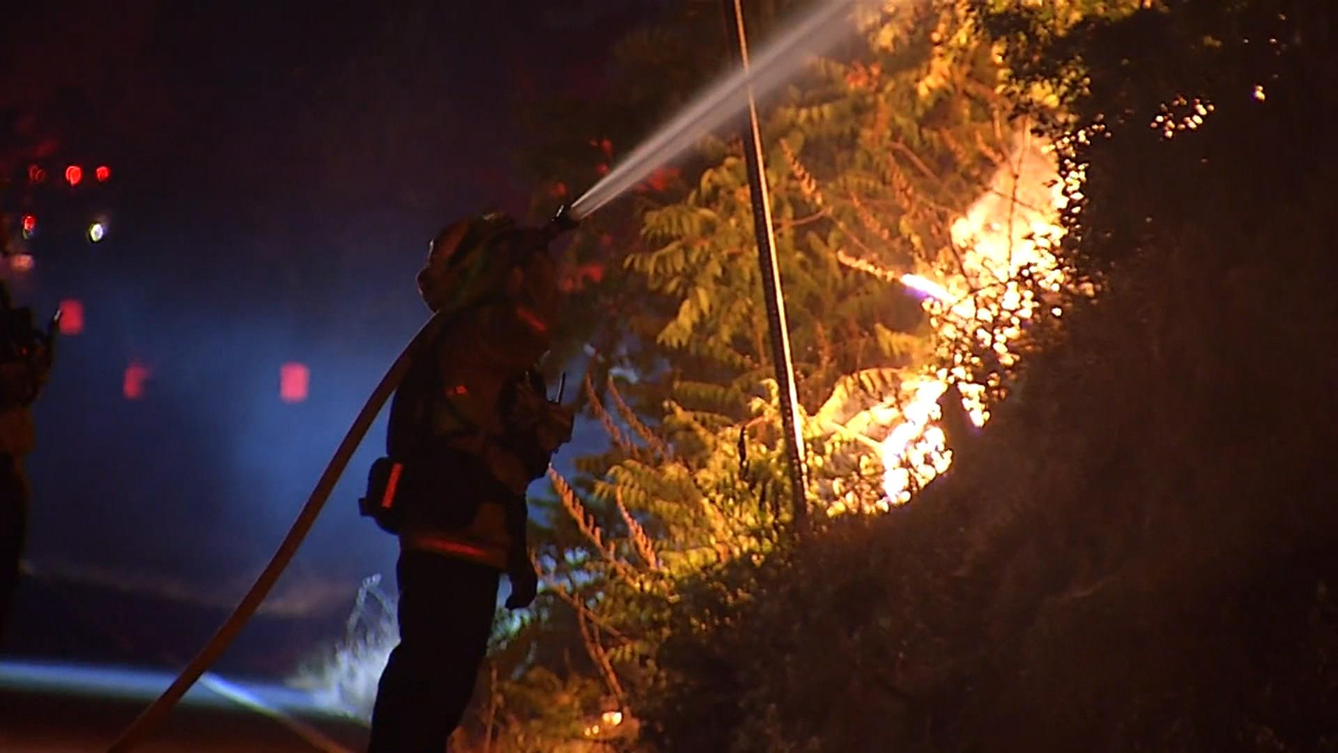 Blue Cut Fire 22 percent contained; some evacuations lifted