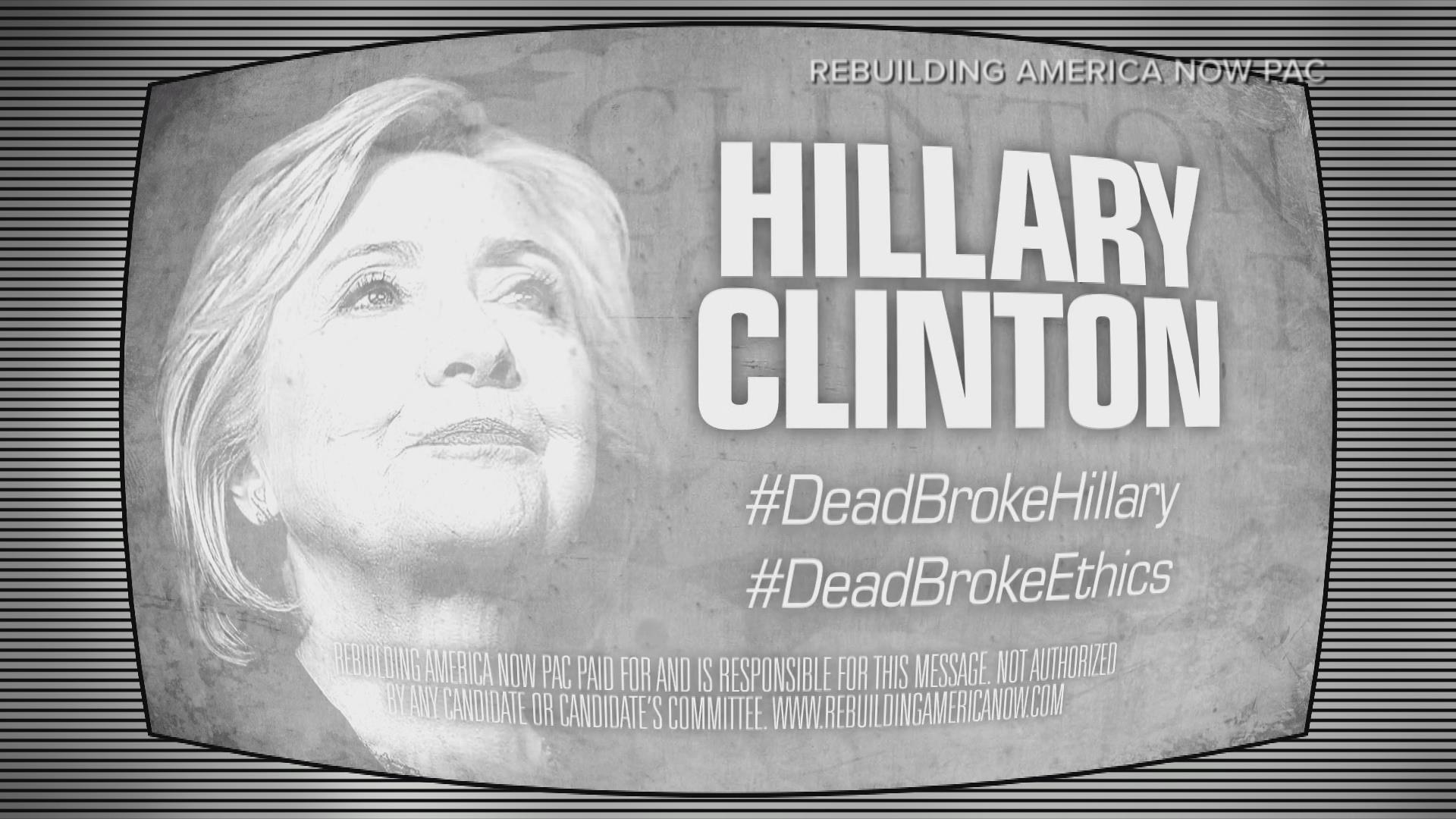 New Ad Hits Clinton for Allegedly Profiting off of Political Connections