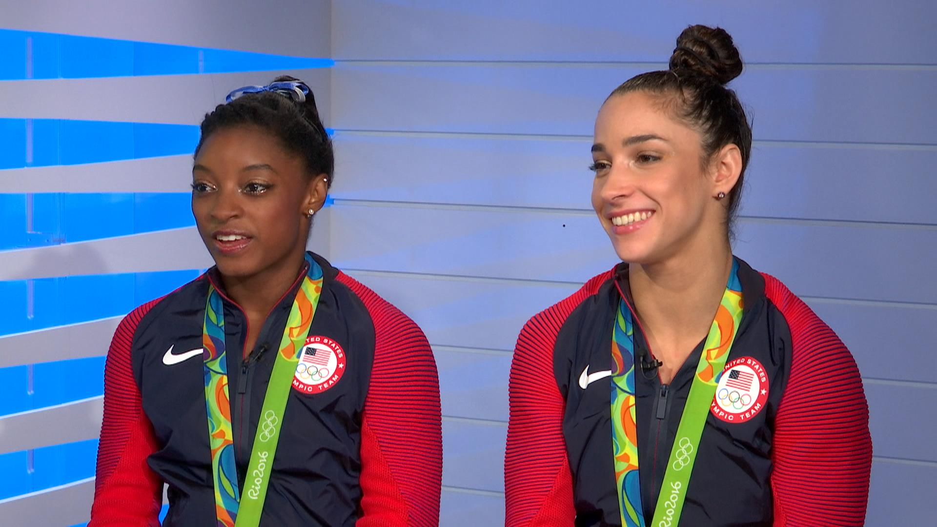 Simone Biles And Aly Raisman A One Two Punch For Team U S