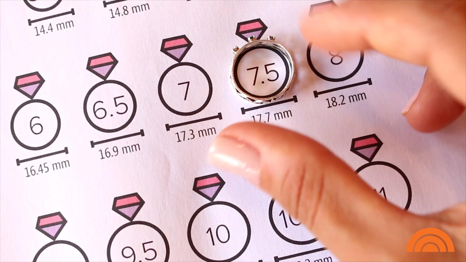 How to find your ring size: Use this paper-measuring method ...