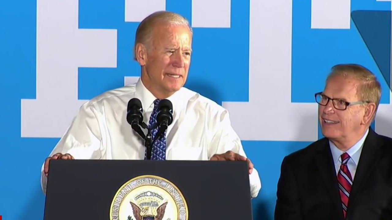 Strategy behind Biden's Ohio campaigning