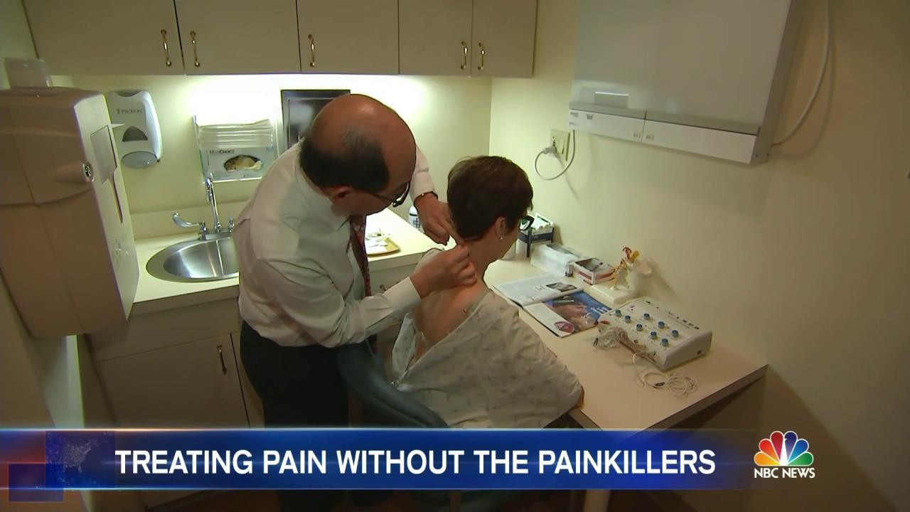 This Alternative Treatment Could Bring Pain Relief Without Pills - NBC News
