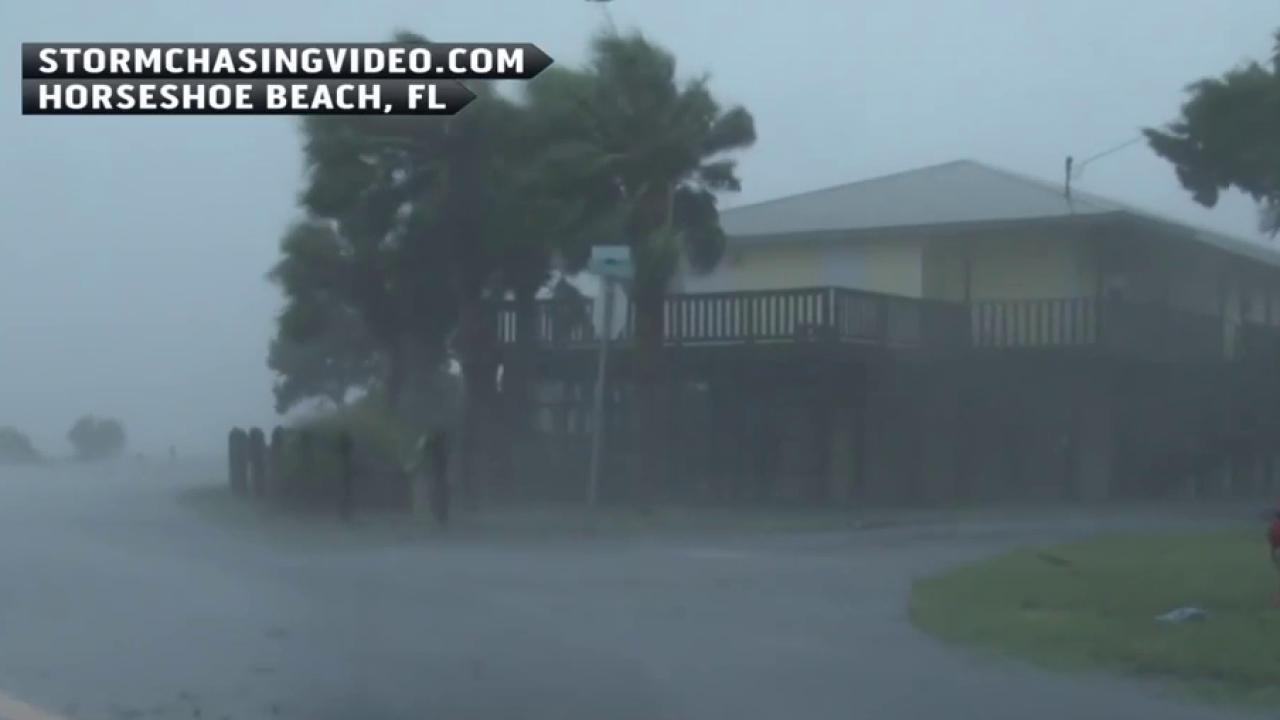 Hermine brings rain, heavy winds to SC