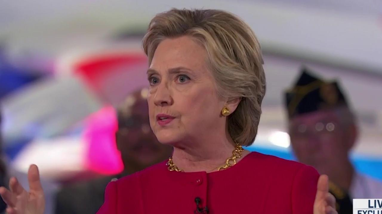 Clinton says no more troops in Iraq