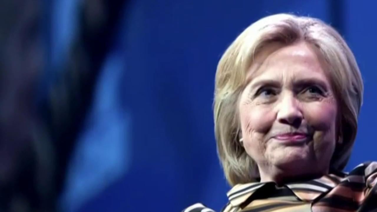 Clinton: Trump doesn't see Obama as an...