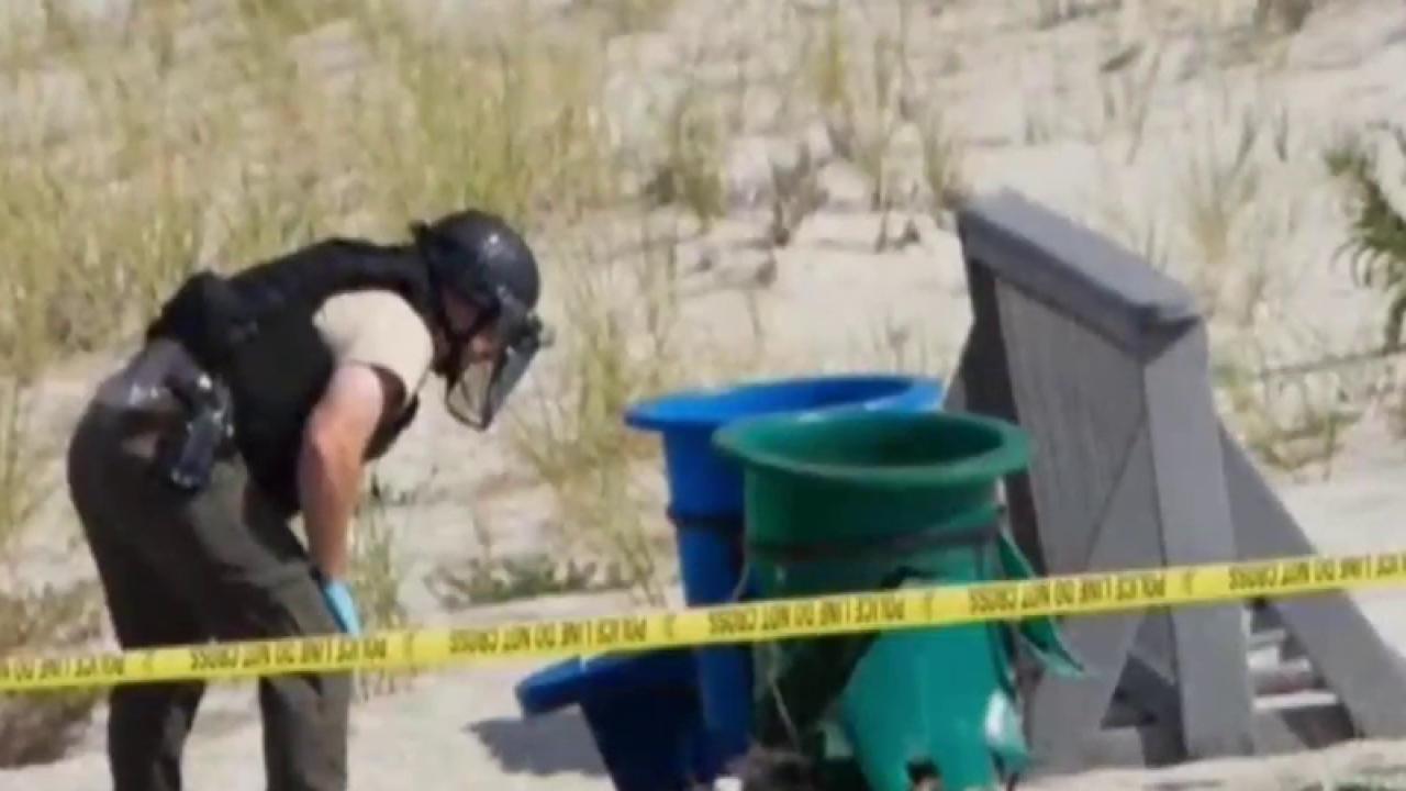 Manhunt underway for suspect in NJ explosion