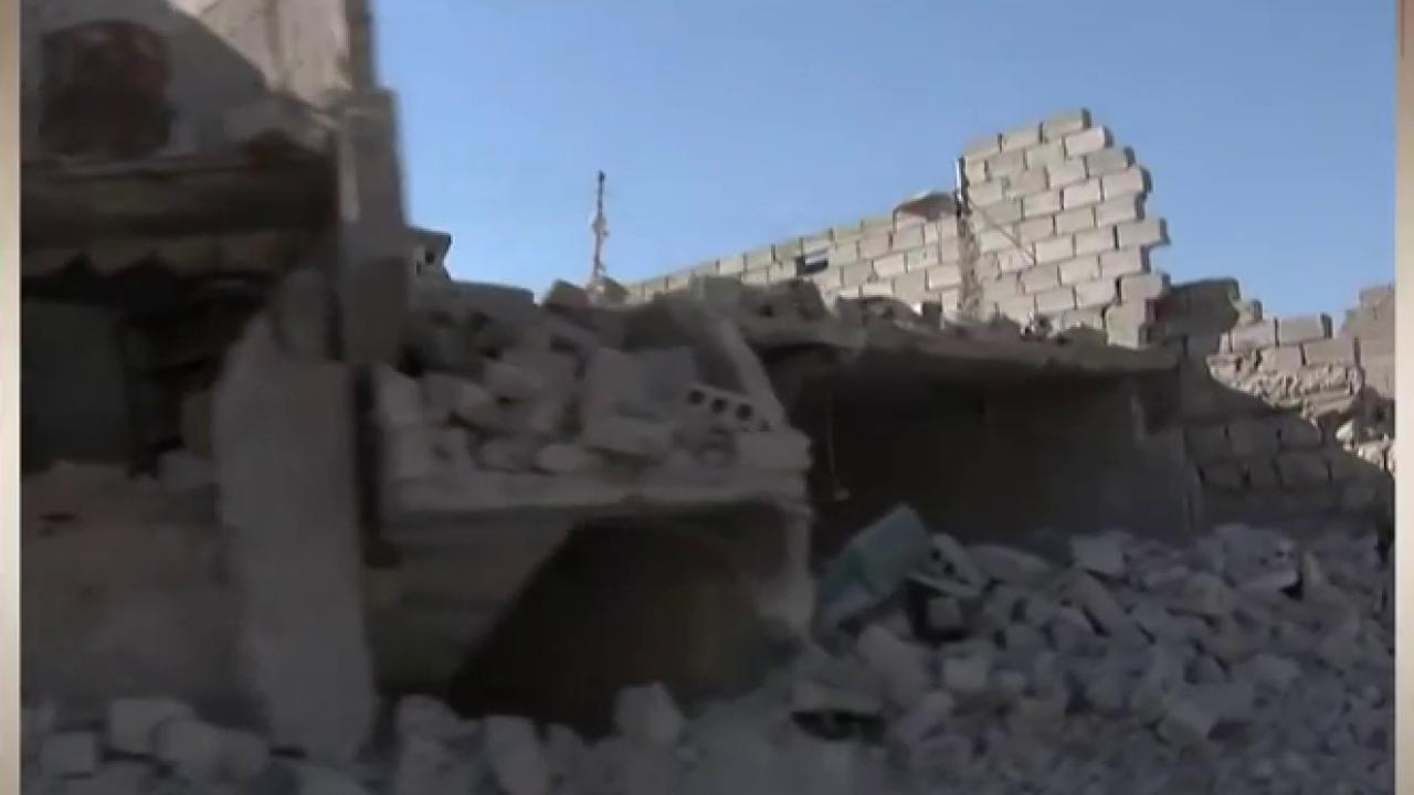 Humanitarian aid convoy hit in Syria