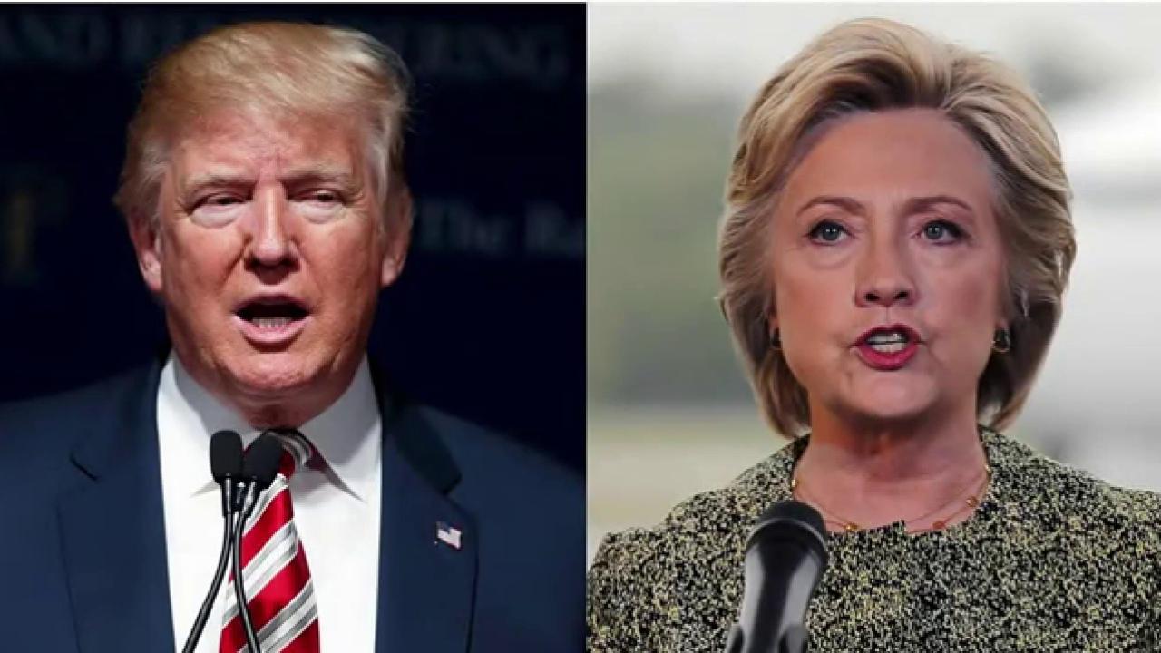 Trump, Clinton clash on counterterror policy