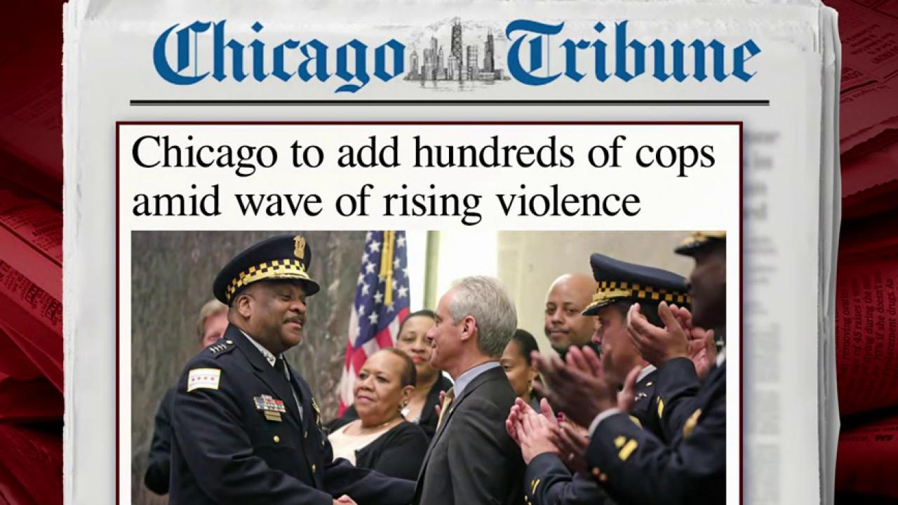 Chicago to add nearly 1,000 police officers